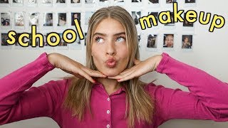 my (kinda) everyday makeup for school!