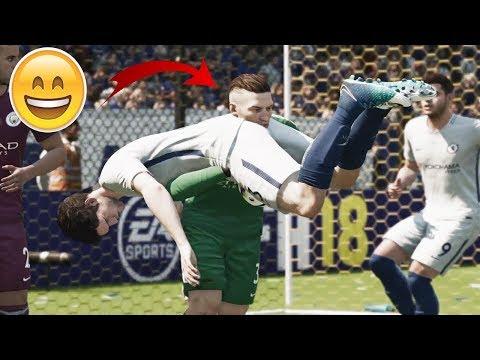 САМЫЙ КРАСИВЫЙ КУРЬЕЗНЫЙ ГОЛ L ЛУЧШИЕ ГОЛЫ НЕДЕЛИ FIFA 18