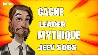 LIVE GAGNE LEADER MYTHIQUE SURVIVANT JEEV SOBS FORTNITE SAUVER LE MONDE PS4 FR
