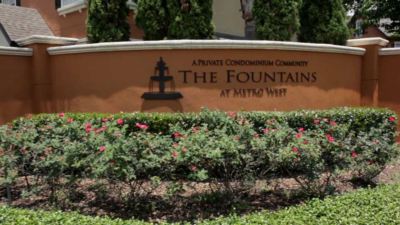 Fountains at Metrowest - Orlando Condominium Community - YouTube