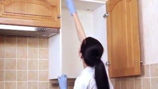 Уборка на кухне(Уборка на кухне. Наведение порядка в кухонном шкафу это процесс, который, как правило, отнимает больше всего..., 2016-02-15T17:03:47.000Z)
