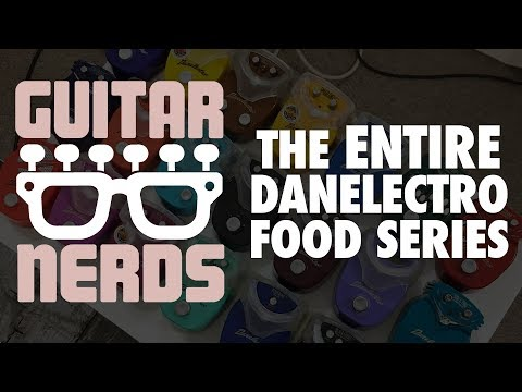 "WE GOT THE ENTIRE DANELECTRO ""FOOD"" SERIES!!! - The Guitar Nerds Show Episode 1"