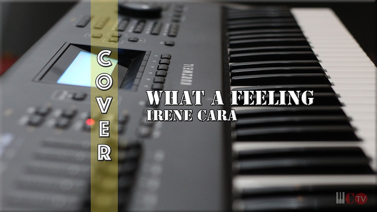 What a feeling piano cover