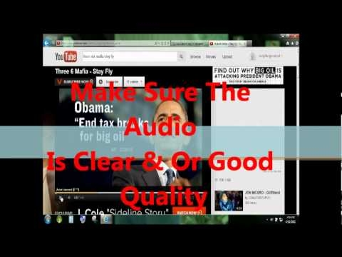 HOW TO DOWNLOAD FREE MUSIC, AUDIO OR SONGS FROM YOUTUBE