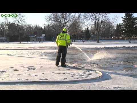 Flooding Ice Rinks in St. Paul Park