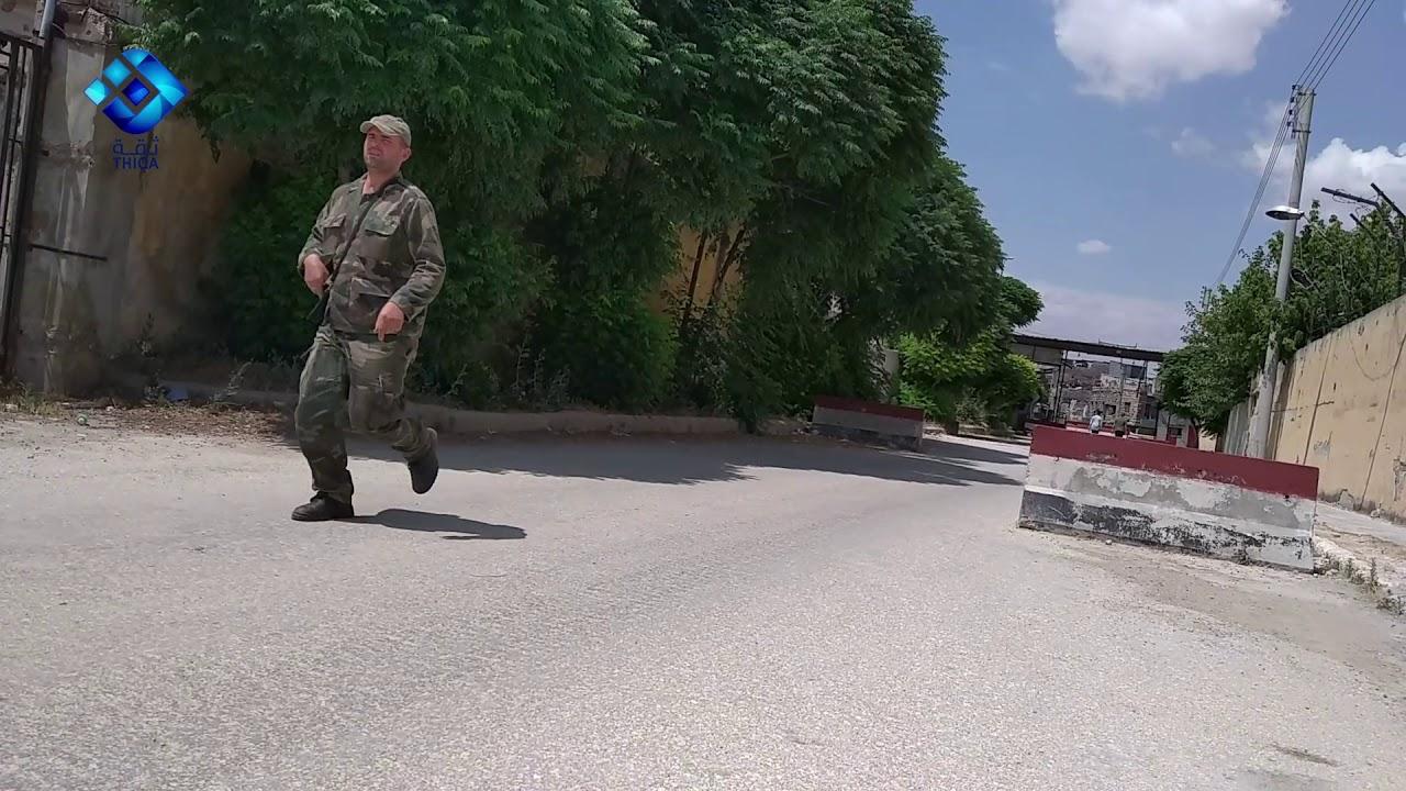 مقاطع مسربة لوكالة ثقة من داخل أحد معسكرات قوات نظام الاسد في مدينة #حلب