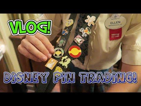 PIN TRADING at Magic Kingdom! | Disney Vlog 2017