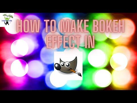 Bokeh Effect in GIMP!