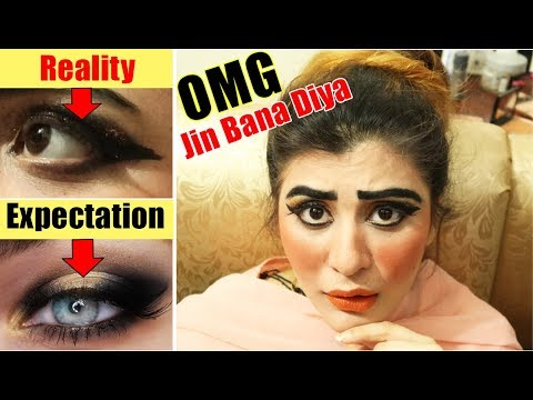 I WENT TO THE WORST REVIEWED MAKEUP ARTIST IN ISLAMABAD (Pakistan)