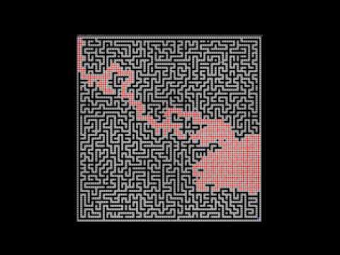 Maze solver using A* pathfinder algorithm