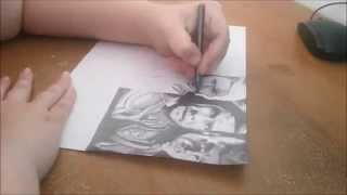 Speed Drawing -  The Avengers