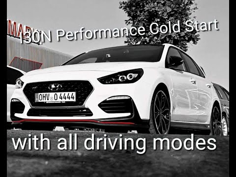 Hyundai I30N Performance Could Start with all Modes N, Custom, Sport, Eco, Normally