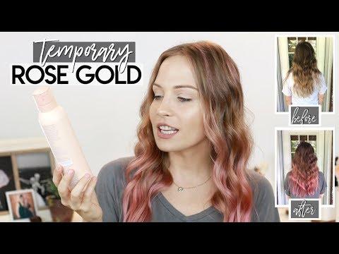 Repeat Rose Gold Hair Diy Rose Gold Hair Makinze By
