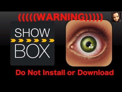 SHOWBOX BAIT WARNING DO NOT INSTALL THIS