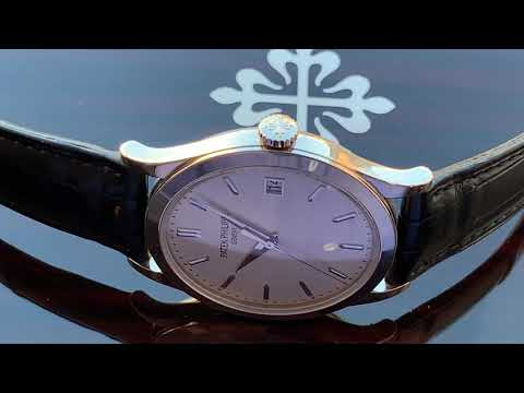 IN DEPTH LOOK AT MY LATEST WRIST WATCH - Patek Philippe 5296 In White Gold