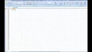 Как в Excel преобразовать строку в столбец