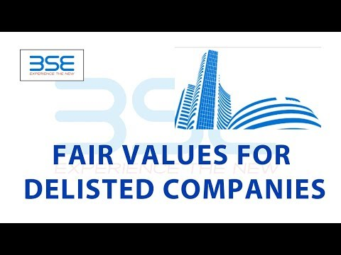 Fair Values for Delisted Companies | Investing | Finance | A