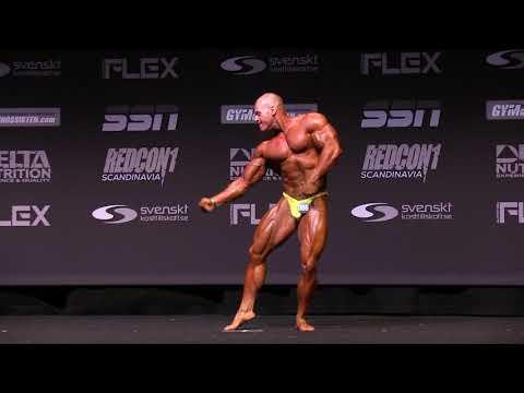 2019 Swedish Championships - Bodybuilding Under 95kg Final