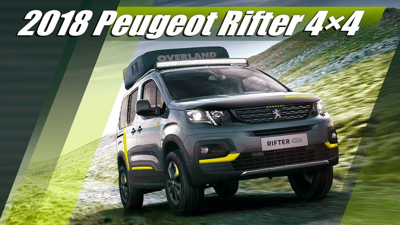 2018 peugeot rifter 4x4 exterior interior drive youtube. Black Bedroom Furniture Sets. Home Design Ideas