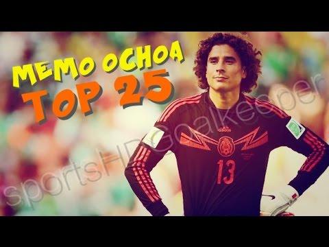 Guillermo Ochoa - TOP 25 Best Saves Ever | SportsHDGoalkeeper