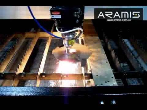 Видео Лазерная резка нержавеющего листана югозападе