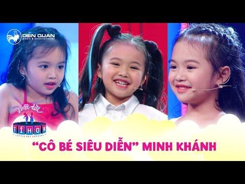 Biệt tài tí hon   Cô bé siêu diễn 5 tuổi Minh Khánh và những tiết mục đáng yêu