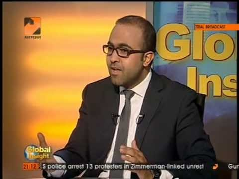 "Hasan Younes' episode on ""USA's spying scandals &the effect on the EU?""Al-Etejah TV-GLOBAL INSIGHTS"