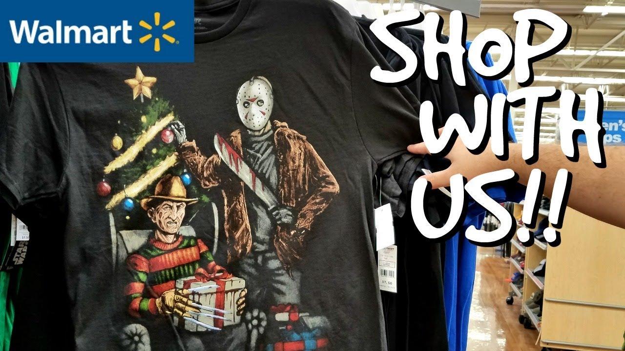 walmart christmas ugly shirts freddy and jason christmas 2017 - Christmas Shirts Walmart
