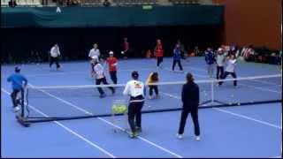2014年3月9日 第50回島津全日本室内テニス選手権大会 テニスクリニック.