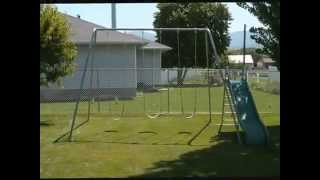 A-frame Swingsets From Componentplaygrounds.com
