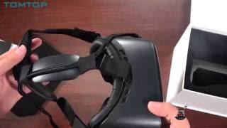 обзор VR шлема Deepoon E2 для компьютера ПК, распаковка очков