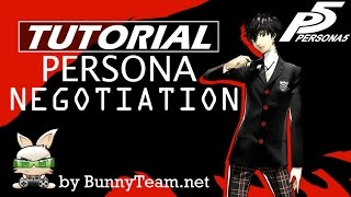 Persona 5 | Persona Negotiation Tutorial