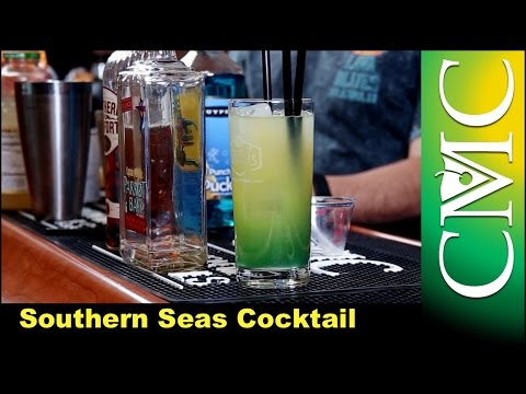 Southern Seas Cocktail | Island Punch Pucker