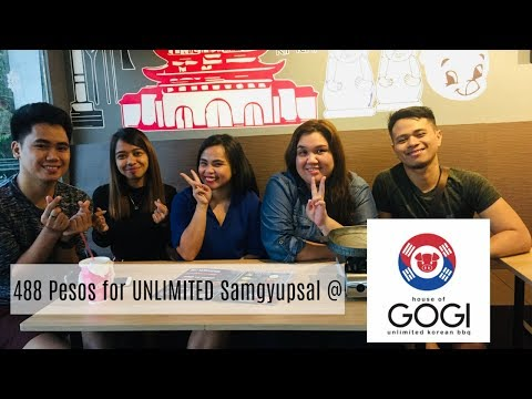 VLOG #3: Unlimited samgyupsal ba, hanap mo? House of Gogi is the perfect place for you | RK Mandapat
