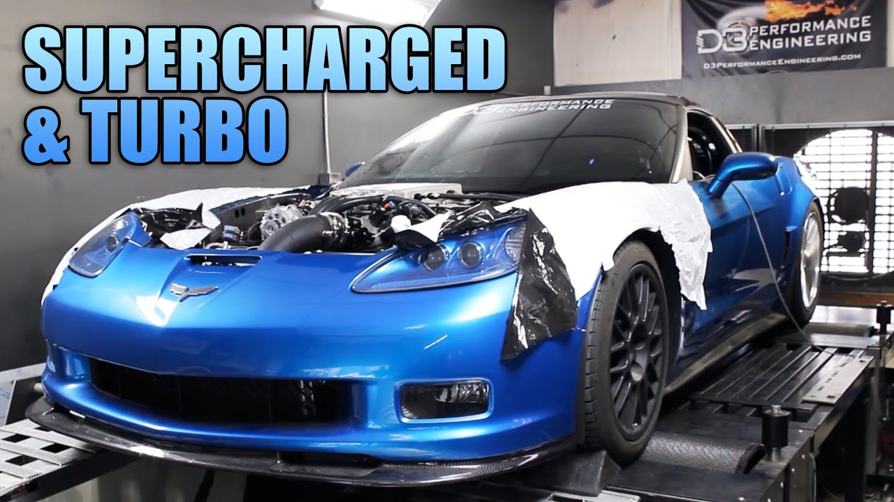 1500hp Zr1 Turbo And Supercharged