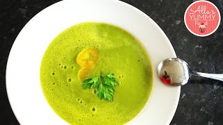 Asparagus Soup - Healthy Soup Recipe - Крем-суп из спаржи