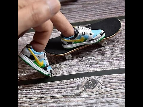 ????Fingerboard Nike Shoes Fingerboard Shoes Top Video & Finger ...