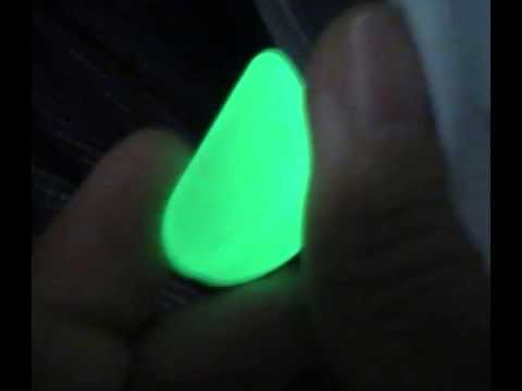 Glow In The Dark Stones And Pebbles Color Green