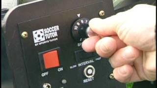 Soccer training - Soccer Ball Machine setup - Pro Trainer Soccer
