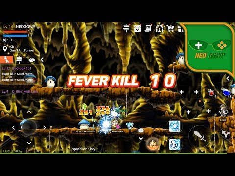 MapleStory M (Full Release) (Android IOS APK) - MMORPG Gameplay, Bishop Lv.1-15