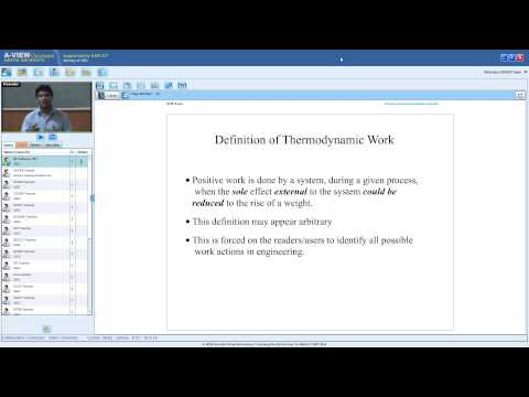 QEEE Lecture 12- Work: Thermodynamic system