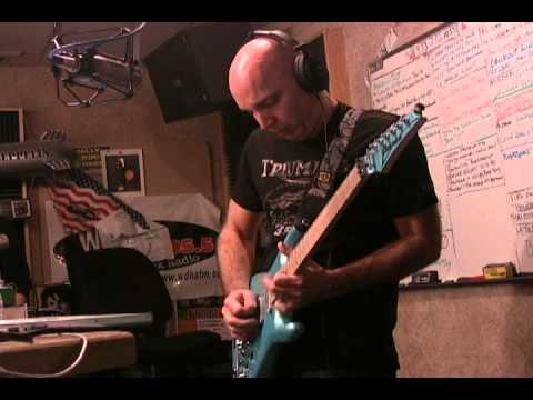 WDHA's Studio D with Joe Satriani performing Light Years Away