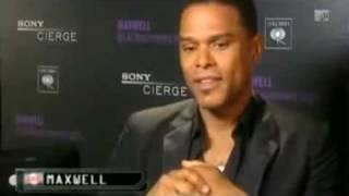 Maxwell talks about Black Summers´ Night