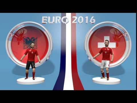 Albanie - Suisse EURO 2016