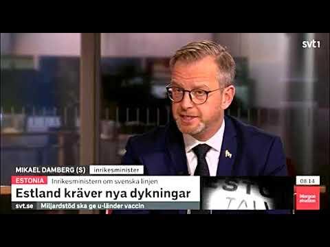 """Estonia - """"Vi ska gå till botten med det här""""   SVT 14/10 2020"""
