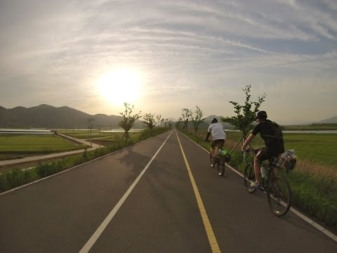 Bicycle trip from Seoul to Busan - 4 rivers bike path