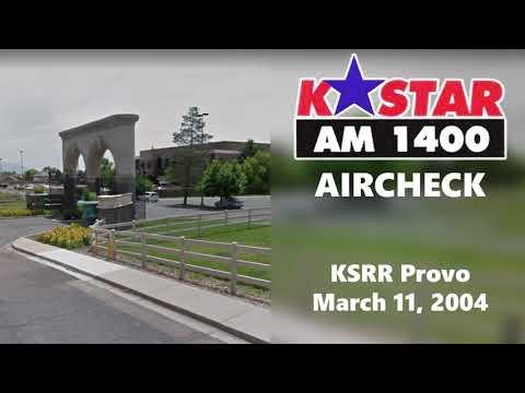 1400 K-Star Provo Aircheck (2004)