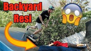 BACKYARD RESI CHALLENGE!!!