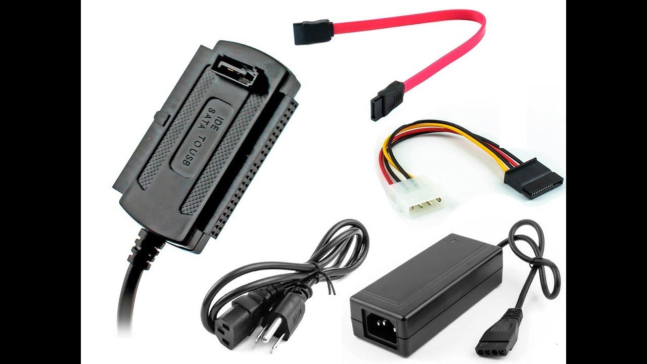Adaptador USB a Sata Ide - Unboxing - YouTube