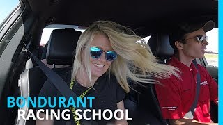 RVING & RACING? BONDURANT SCHOOL OF DRIVING (EP 100)